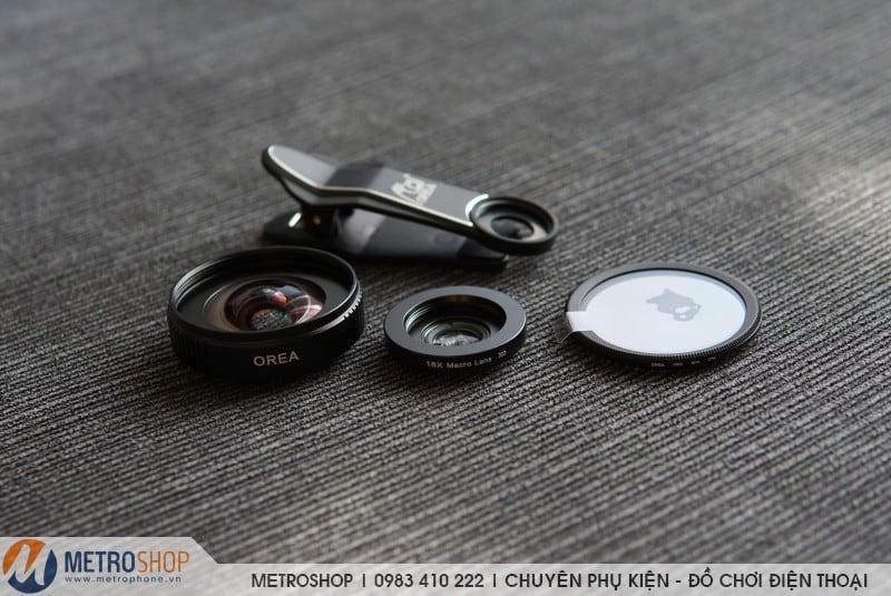 Ống kính góc rộng Orea 17mm cho điện thoại - Metrophone.vn
