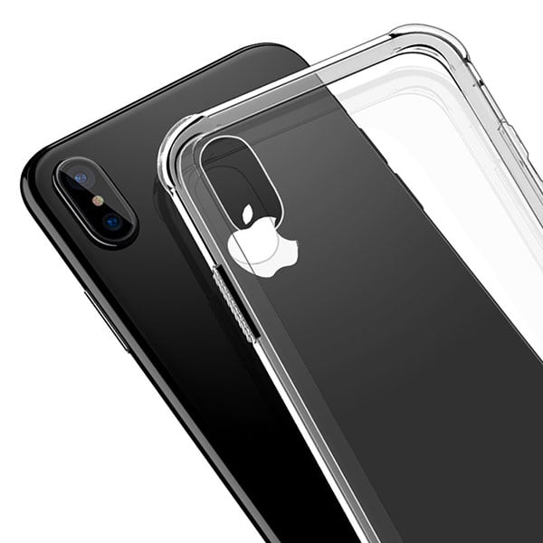 Ốp lưng chống sốc iPhone X trong suốt