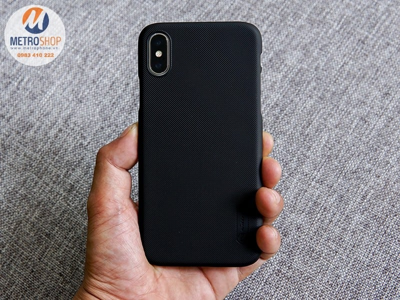 Ốp lưng Nillkin iPhone X Super Frosted Shield