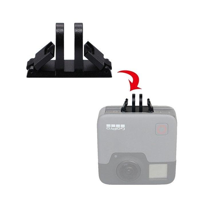 Adapter chuyển GoPro Fusion sang đầu gắn lên gậy