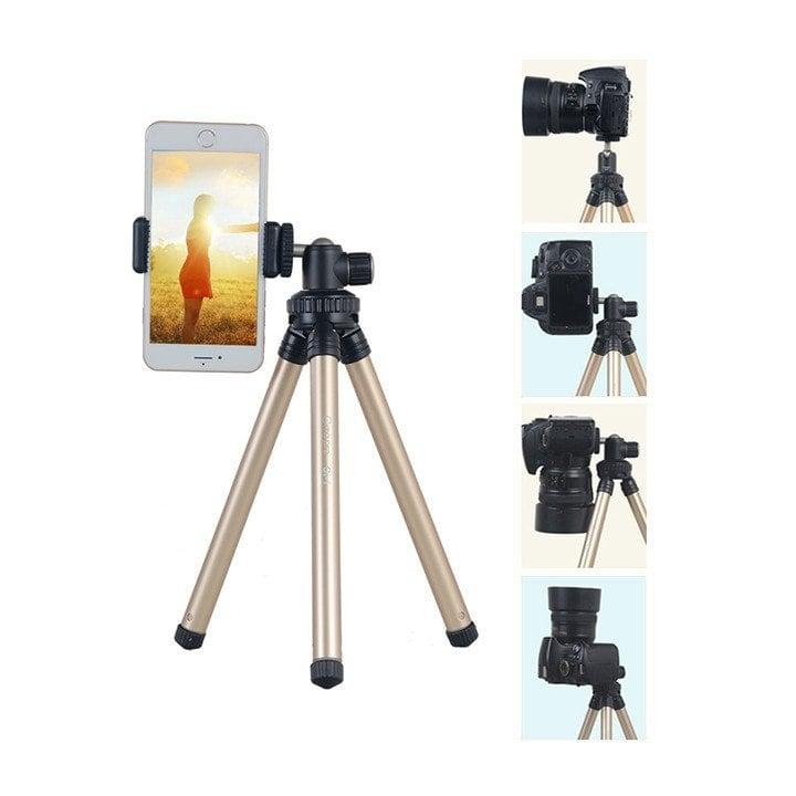 Chân máy ảnh du lịch cho điện thoại và máy ảnh Xiletu C-1