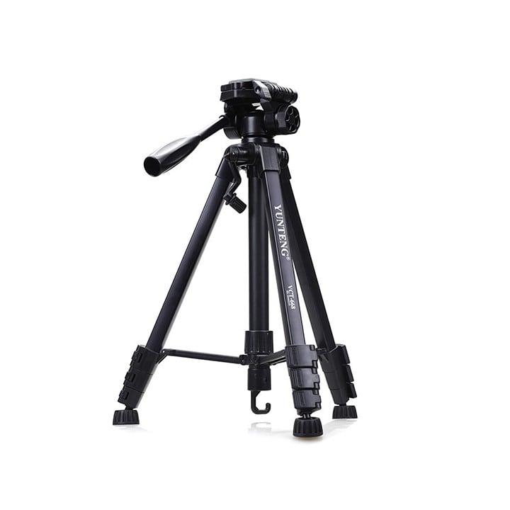 Chân máy ảnh và Điện thoại YUNTENG VCT-668