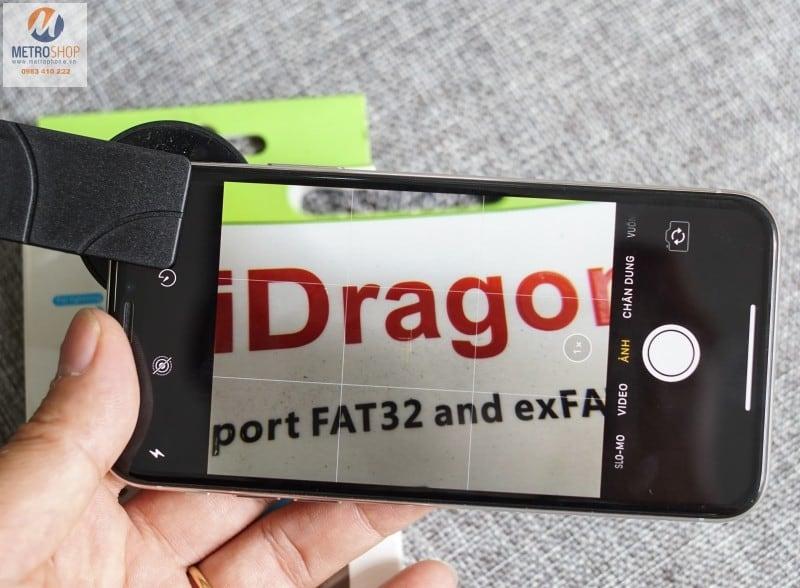 Ống kính Macro 15X điện thoại - Metrophone