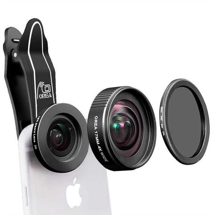 Ống kính góc rộng cho điện thoại Orea 17mm - Metrophone