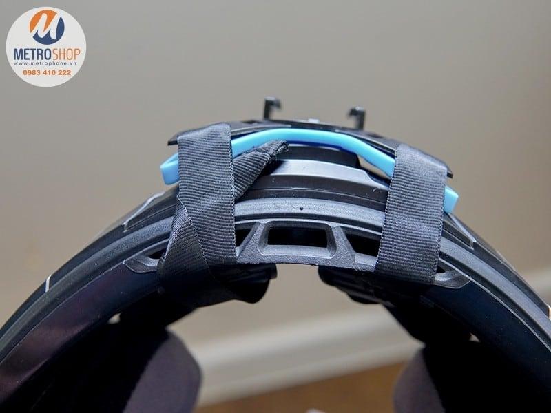 Mount gắn cằm GoPro nón bảo hiểm FullFace Telesin - Metrophone
