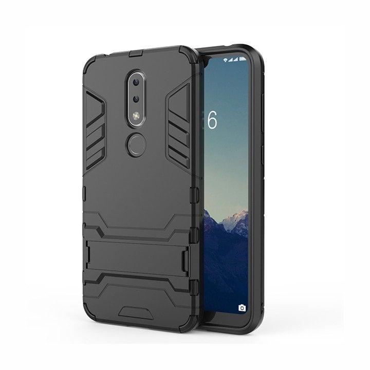 Ốp lưng Nokia 6.1 Plus - Ốp lưng Nokia X6 chống sốc IRON MAN