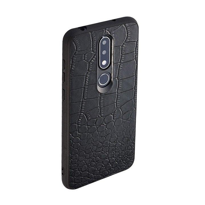 Ốp lưng da Nokia X6 / Nokia 6.1 Plus