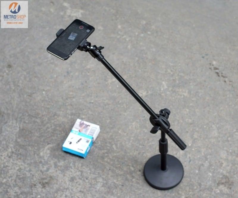 Giá đỡ điện thoại quay Video từ trên xuống - Metrophone