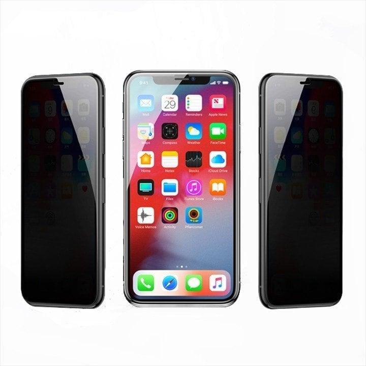 Kính cường lực chống nhìn trộm iPhone Xs Max / Xr Full màn hình Baseus