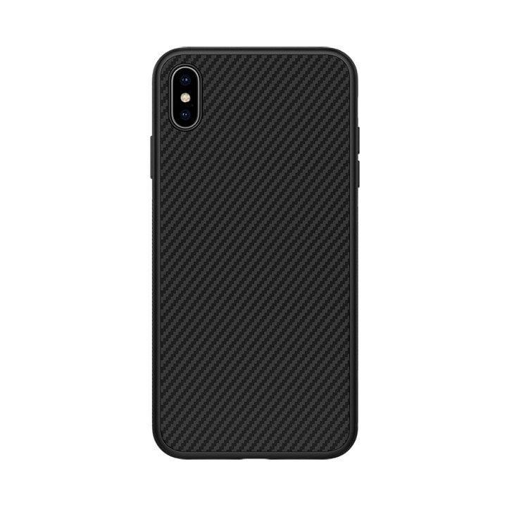 Ốp lưng Nillkin Carbon Fiber iPhone Xs Max chính hãng - Metrophone