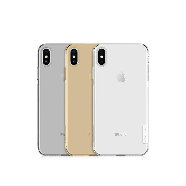 Ốp lưng iPhone Xs Max trong suốt Nillkin TPU case