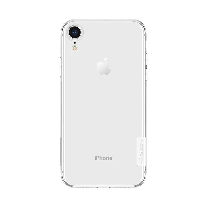 Ốp lưng trong suốt iPhone Xr Nillkin TPU chính hãng