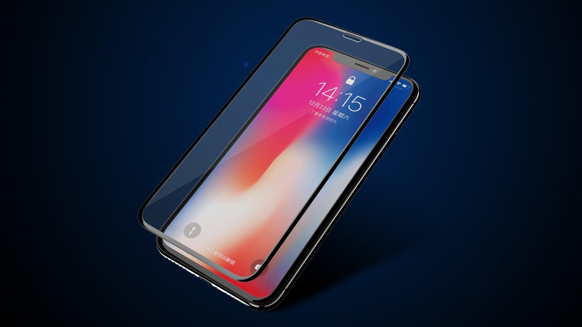 Miếng dán cường lực iPhone Xs Max FULL màn hình REMAX Emperor
