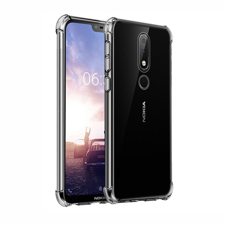Ốp lưng chống sốc Nokia 5.1 Plus trong suốt