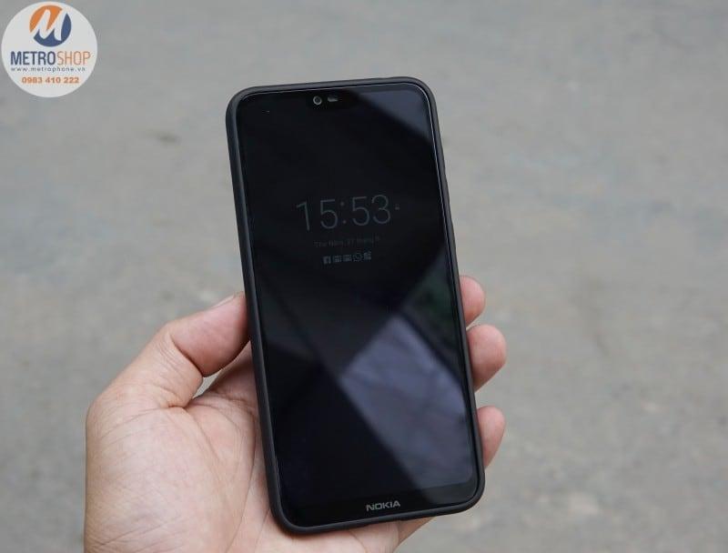 Ốp lưng da Nokia X6 / Nokia 6.1 Plus - Metrophone