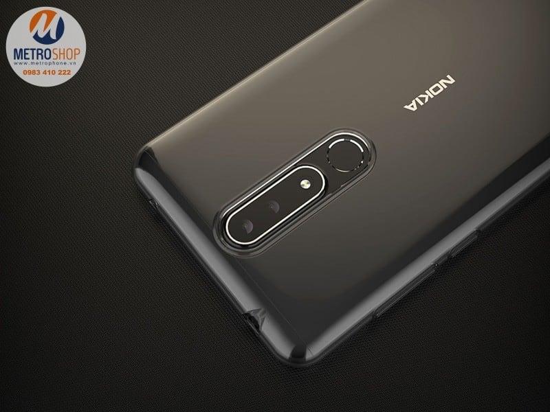 Ốp lưng trong suốt Nokia 3.1 Plus