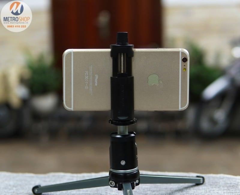 Khung kẹp gắn điện thoại lên chân máy ảnh Yunteng - Metrophone