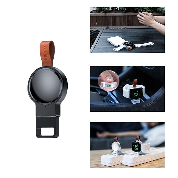 Sạc Apple watch mini cổng USB Baseus chính hãng
