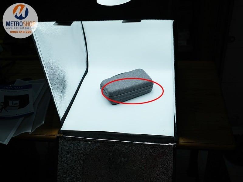 Hộp chụp sản phẩm tích hợp đèn led 40x40cm Puluz