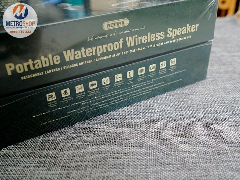 Mở hộp Loa Bluetooth RB-M28 chính hãng