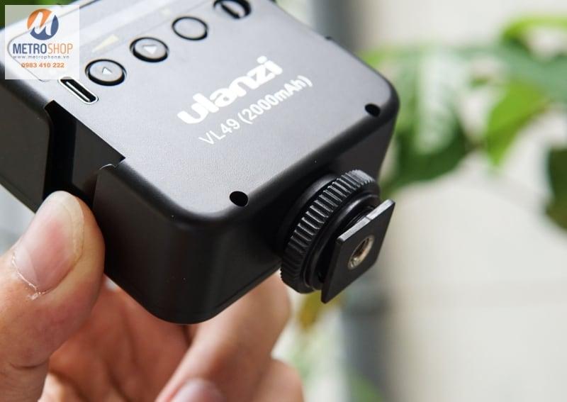 Đèn LED hỗ trợ quay phim - chụp hình Ulanzi VL49 - Metrophone.vn