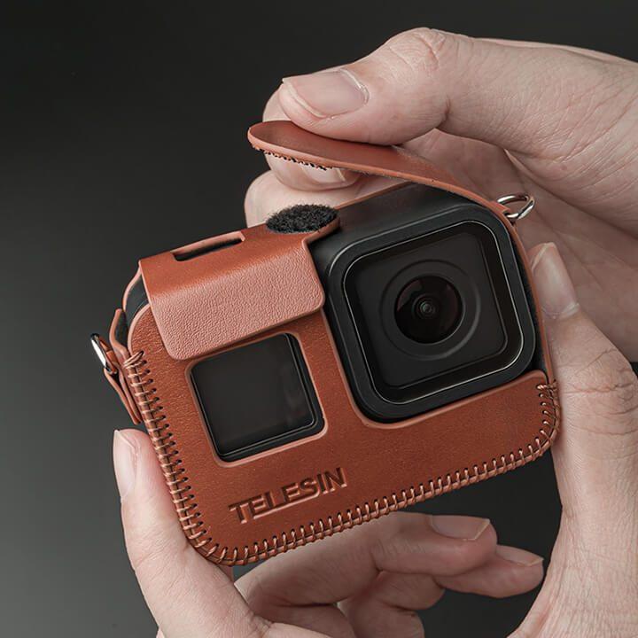 Bao da GoPro 8 Telesin chính hãng