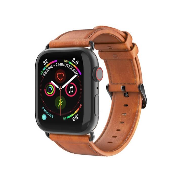 Dây da Apple Watch Series 5 4 3 Dux Ducis chính hãng
