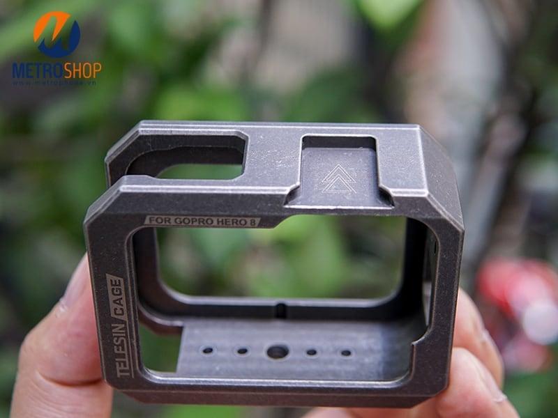 Khung kim loại bảo vệ GoPro 8 Telesin chính hãng