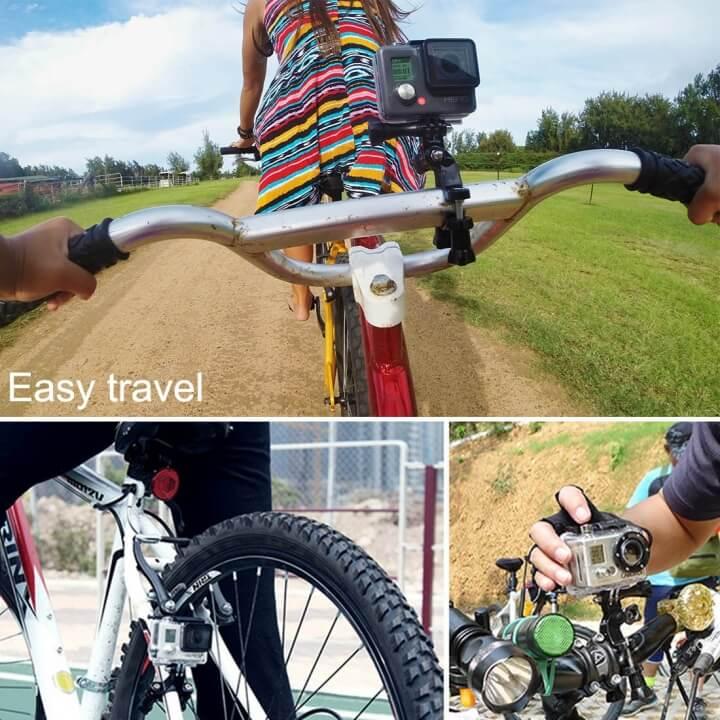 Mount gắn GoPro lên xe đạp Puluz chính hãng
