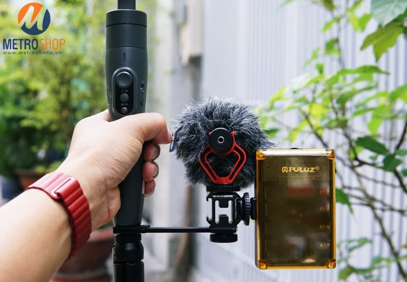 Thanh chia gắn thiết bị cho Gimbal và Chân Đế Điện Thoại - Metrophone.vn