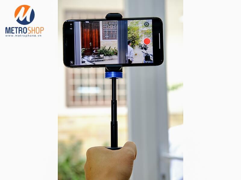Chân đế điện thoại Live Stream kiêm tay cầm quay video Cima pro