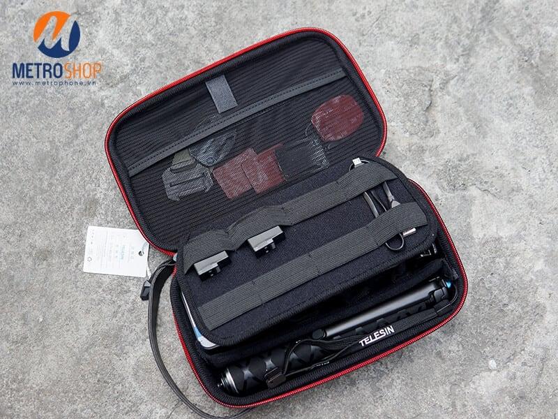 Hộp đựng phụ kiện GoPro và Action Cam Telesin chính hãng