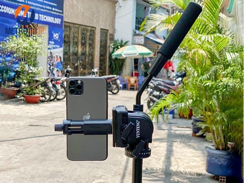Chân đế Yunteng VCT-691 cho điện thoại và máy ảnh