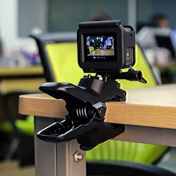 Kẹp GoPro đa năng Telesin ( Jaws Flex Clamp )