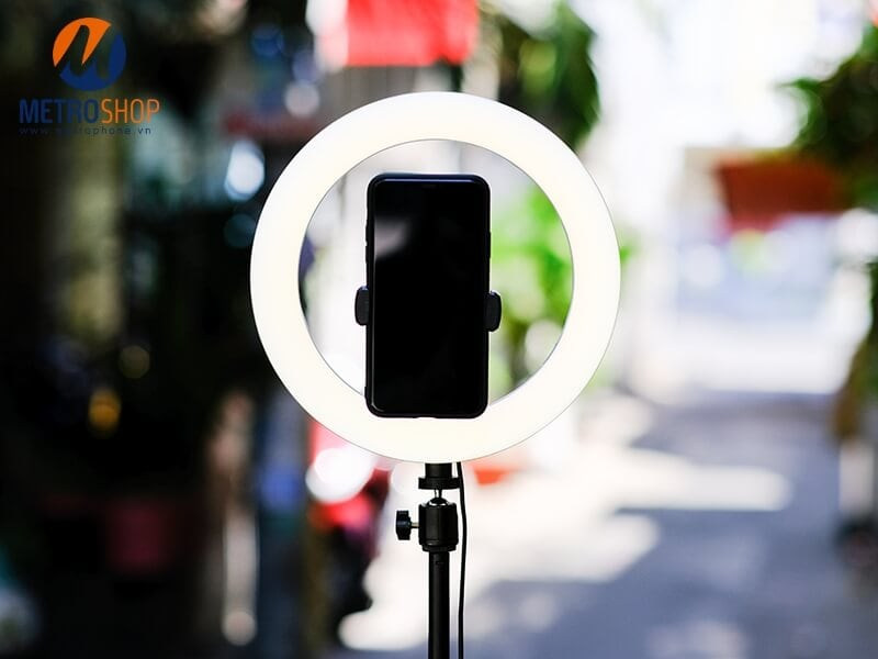 Bộ đèn LiveStream 26cm kèm chân