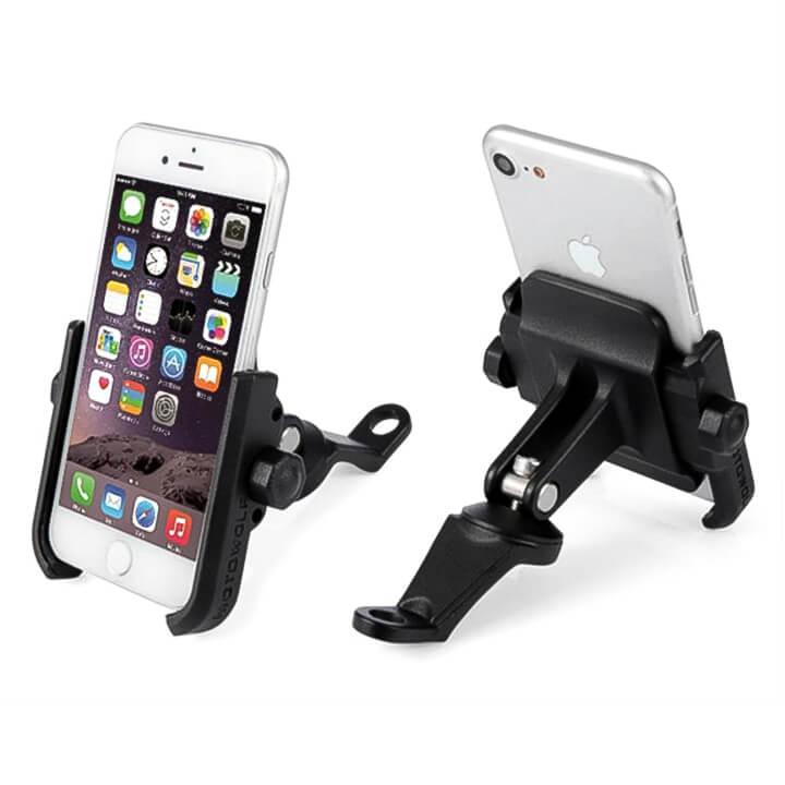 Giá điện thoại gắn chân kính xe máy MOTOWOLF
