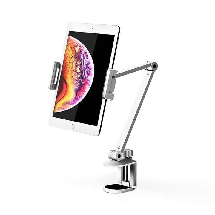 Giá đỡ iPad Pro kẹp cạnh bàn xoay 360 độ Upergo