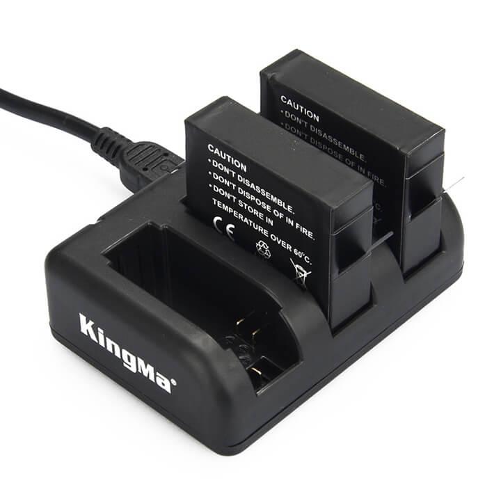 Sạc và pin cho GoPro 4 Kingma