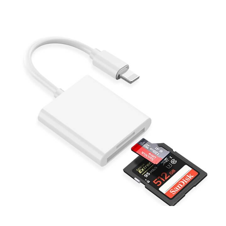 Đầu đọc thẻ nhớ iPhone iPad ( SD / Micro SD )