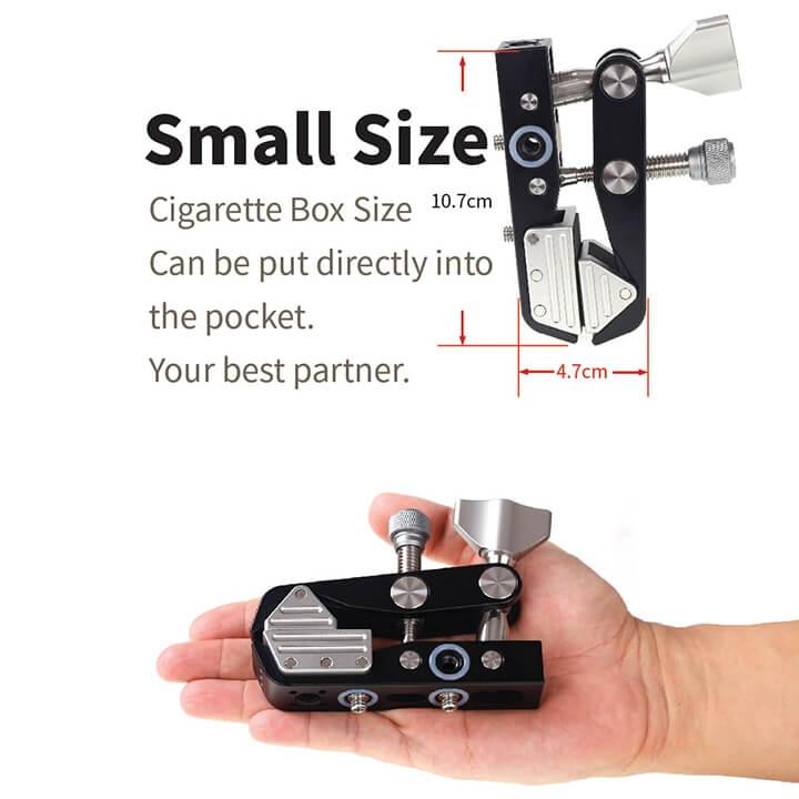 Kẹp đa năng cho máy ảnh và điện thoại CNC Xiletu XC-80