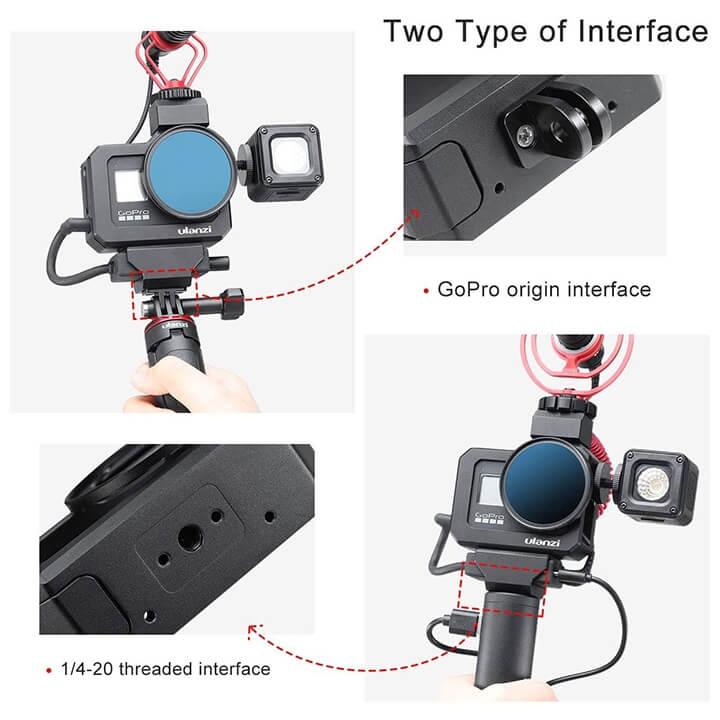 Khung Vlog Metal GoPro 8 Ulanzi G8-5 chính hãng