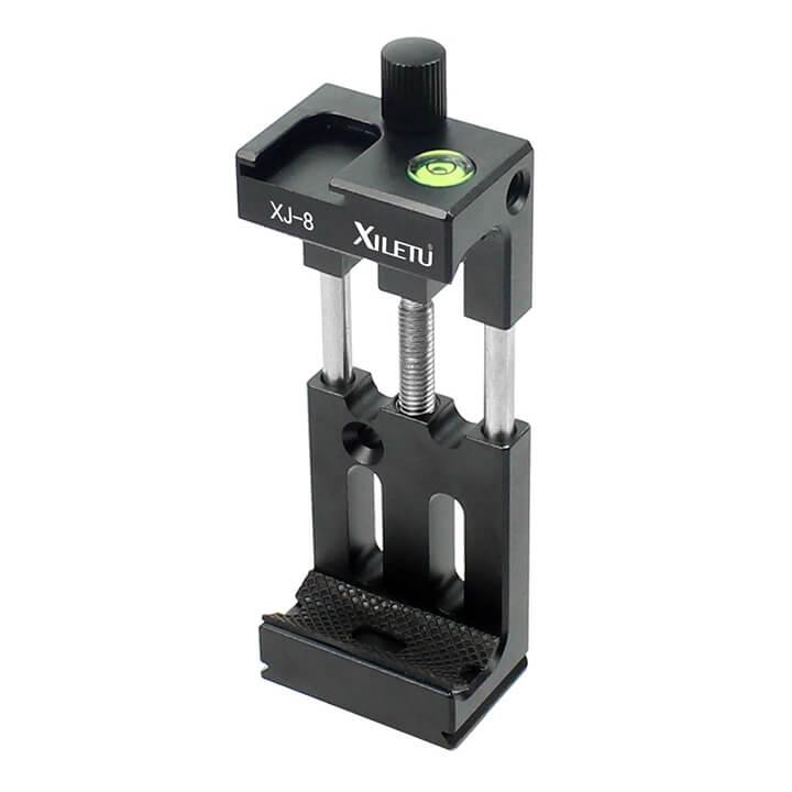 Khung giữ điện thoại lên chân máy ảnh Xiletu XJ-8