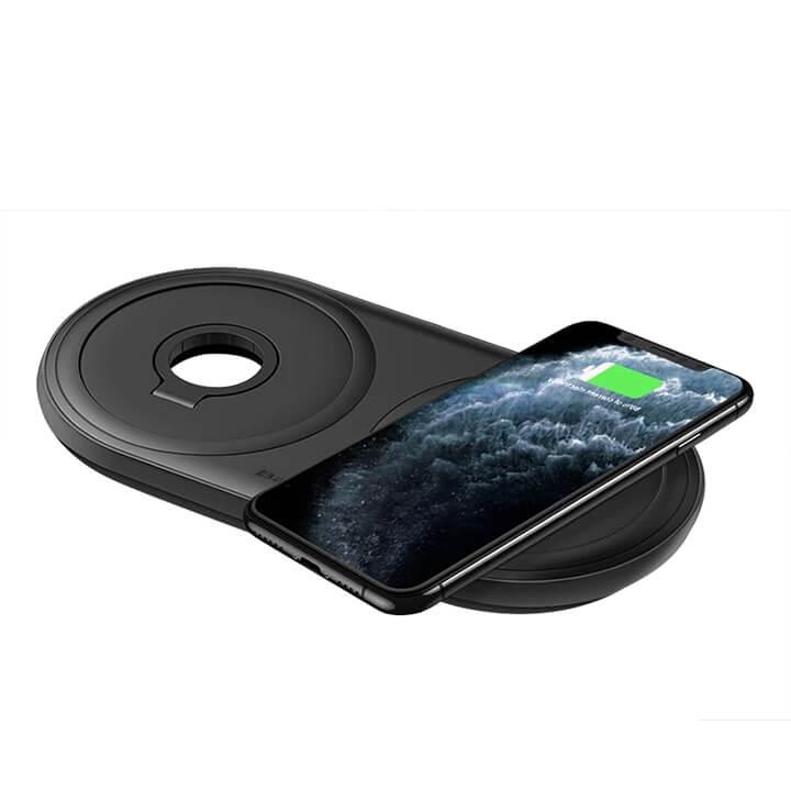 Dock sạc không dây iPhone Apple Watch Airpod Baseus
