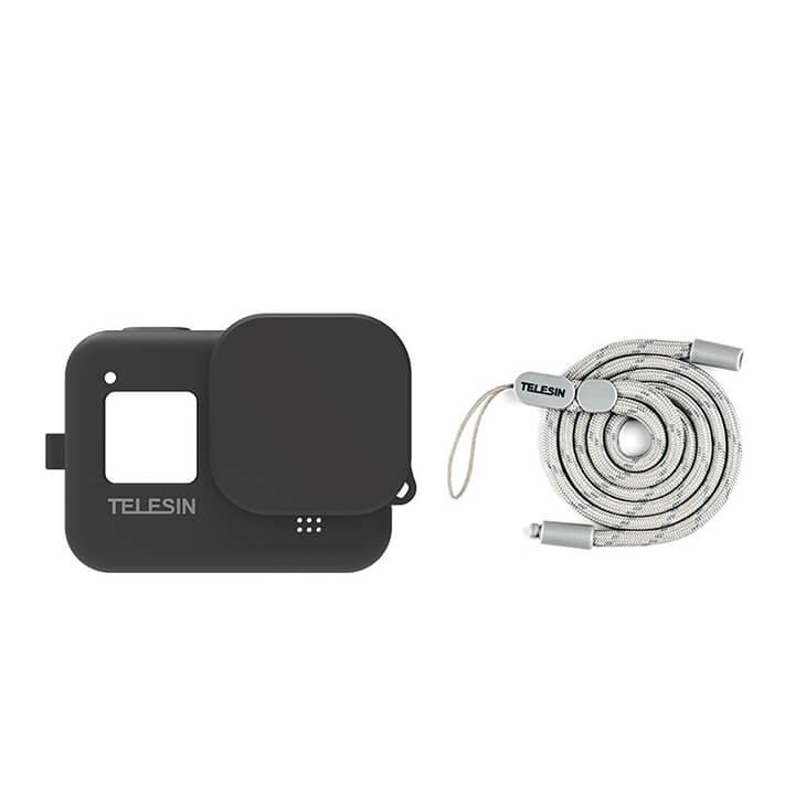 Ốp Silicone bảo vệ GoPro 8 Telesin chính hãng