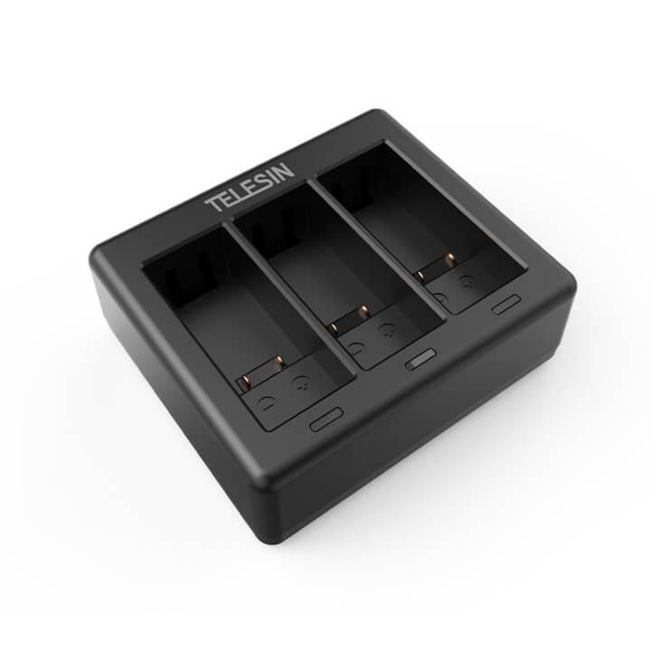 Dock sạc pin GoPro 9 Telesin ( Sạc 3 pin )