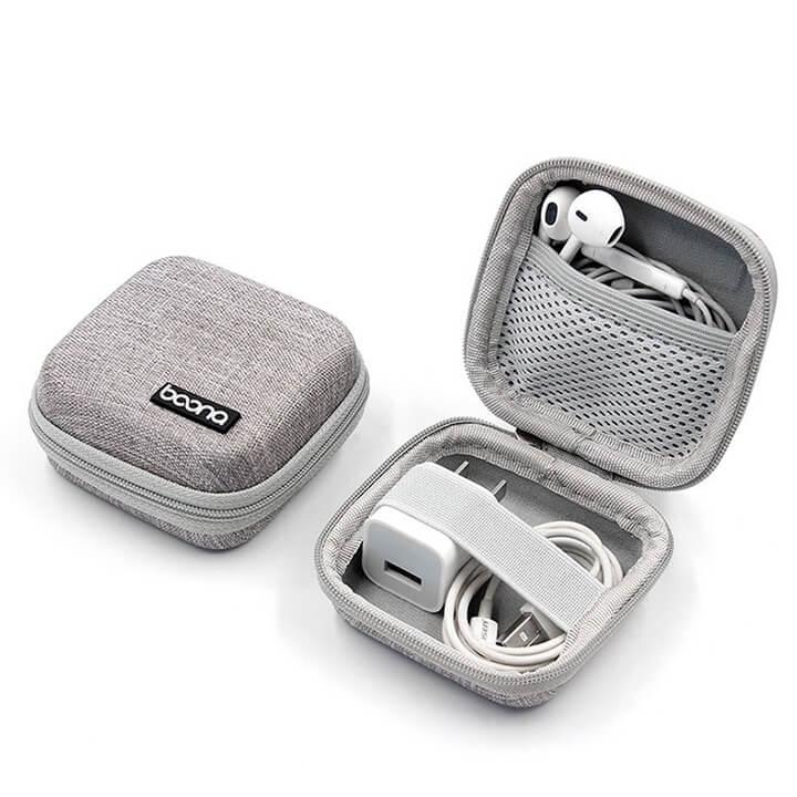 Hộp Mini đựng tai nghe dây Baona chính hãng