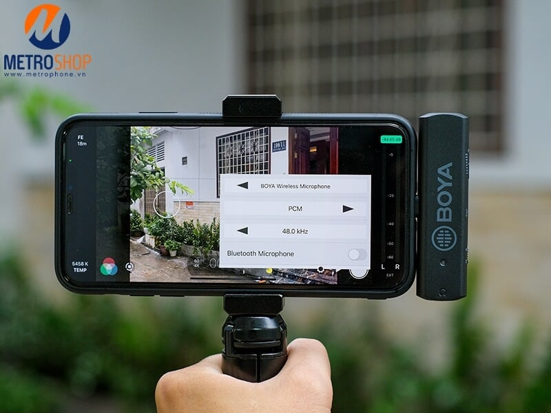 Mic không dây iPhone đầu Lightning BOYA BY-WM4 PRO K3