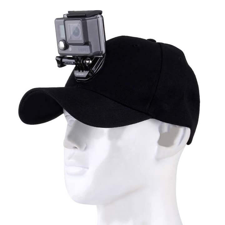 Mũ lưỡi trai gắn GoPro và Action Cam Puluz