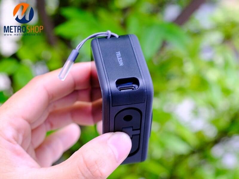 Nắp pin GoPro 9 tích hợp cổng sạc Telesin