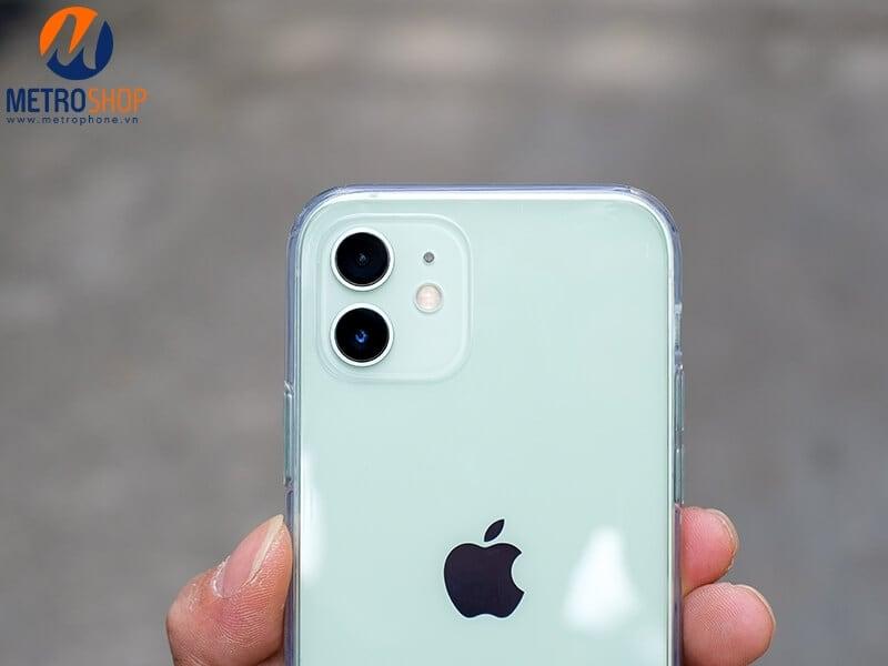 Camera của ốp lưng iPhone 12 trong suốt Benks chính hãng
